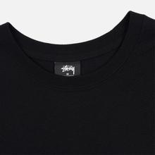 Мужская футболка Stussy Carp Stock Black фото- 1