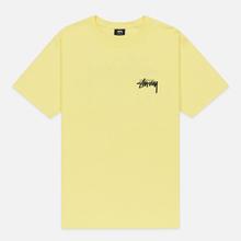 Мужская футболка Stussy Carp Stock Lemon фото- 0