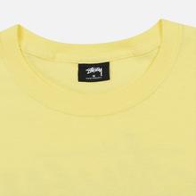Мужская футболка Stussy Carp Stock Lemon фото- 1