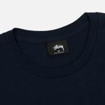 Мужская футболка Stussy Champion Navy фото- 1