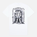 Stussy Champion Men's T-shirt White photo- 4
