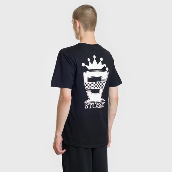 Мужская футболка Stussy Checkers Black