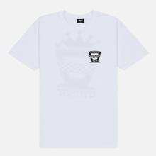 Мужская футболка Stussy Checkers White фото- 0