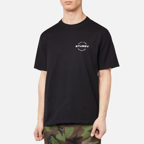 Мужская футболка Stussy City Circle Black