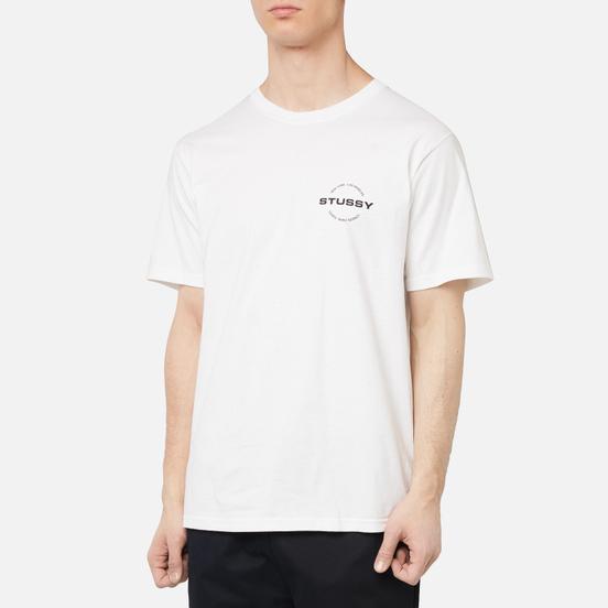 Мужская футболка Stussy City Circle White