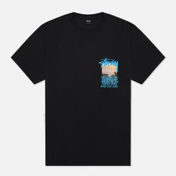 Мужская футболка Stussy Clear Day Black