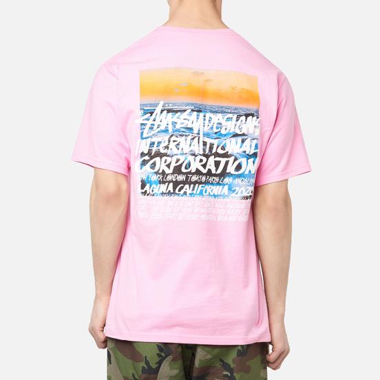 Мужская футболка Stussy Clear Day Pink