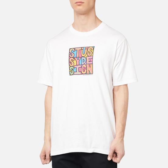 Мужская футболка Stussy Clyde White