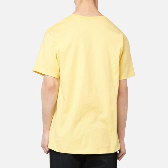 Мужская футболка Stussy Clyde Yellow
