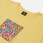 Мужская футболка Stussy Clyde Yellow фото - 1