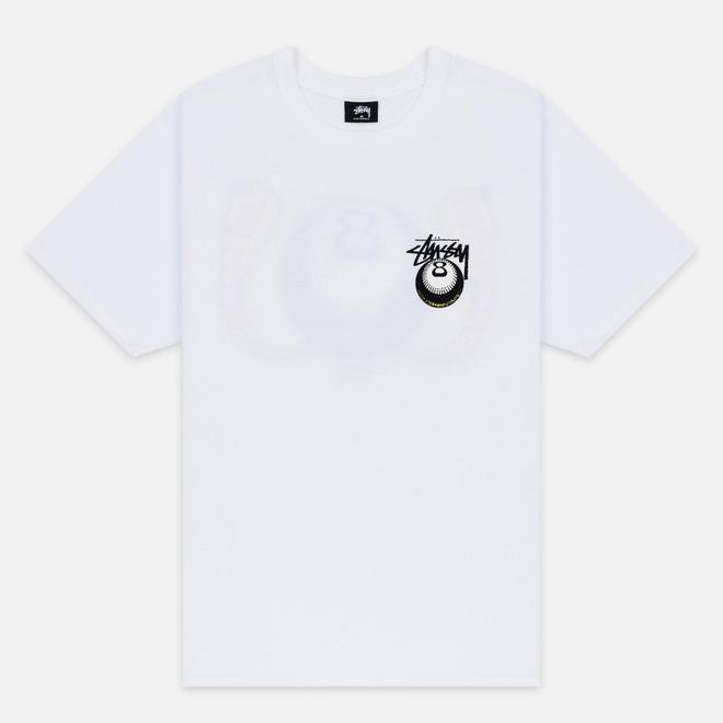 Мужская футболка Stussy Cobra 8 White
