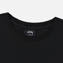 Мужская футболка Stussy Daydream Pigment Dyed Black фото- 1
