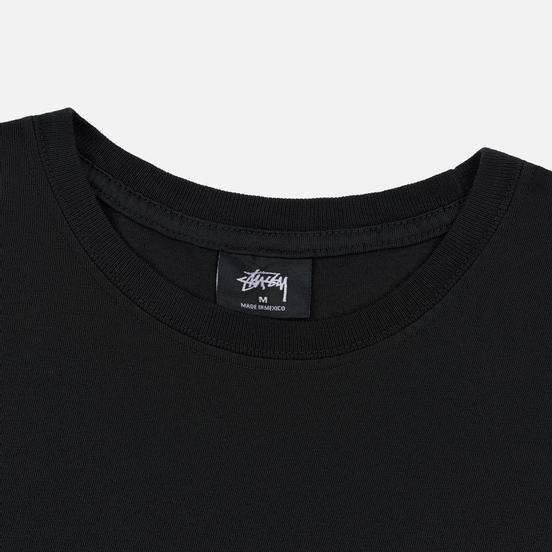 Мужская футболка Stussy Daydream Pigment Dyed Black
