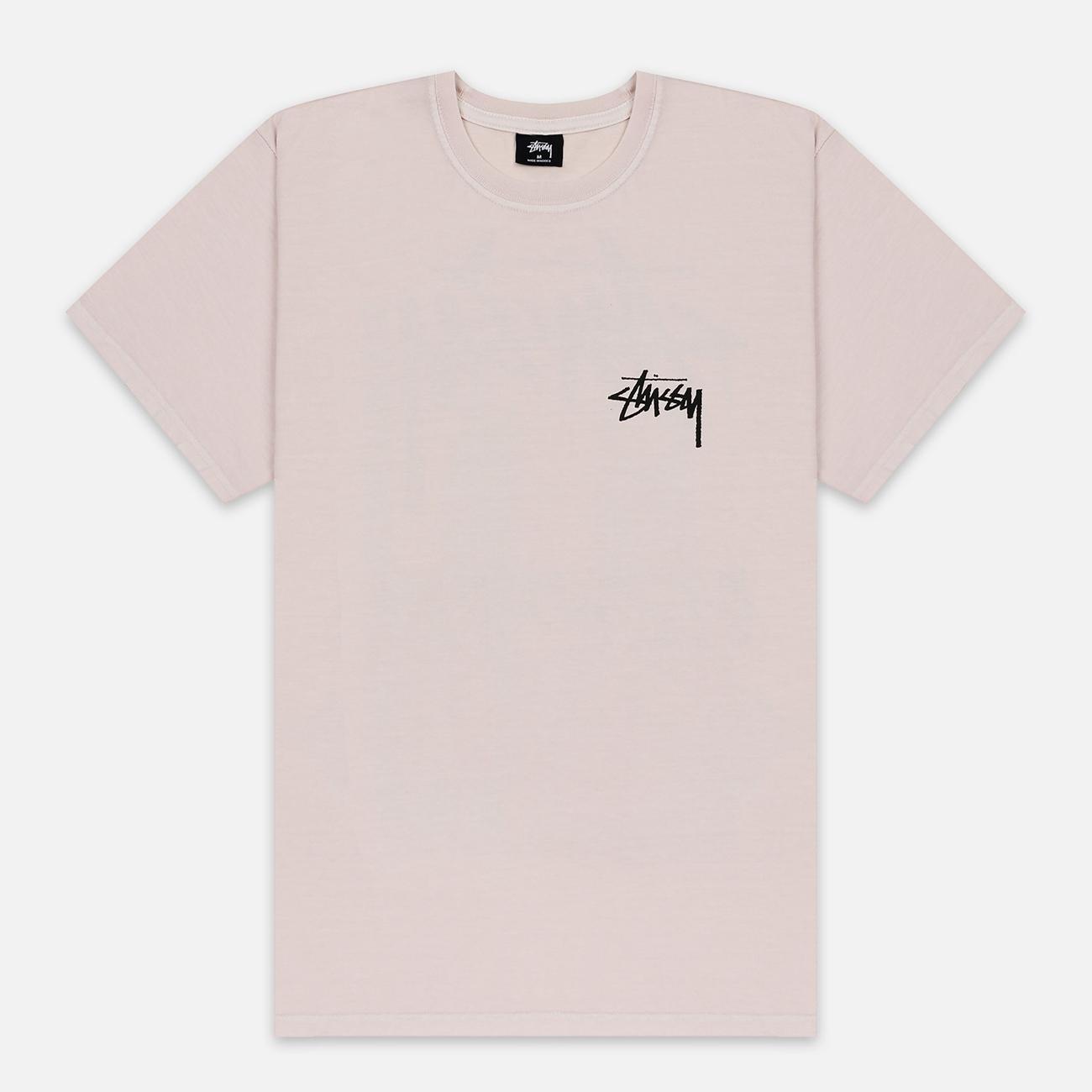 Мужская футболка Stussy Daydream Pigment Dyed Fog