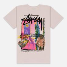 Мужская футболка Stussy Daydream Pigment Dyed Fog фото- 3