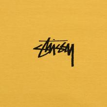 Мужская футболка Stussy Daydream Pigment Dyed Mustard фото- 2