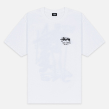 Мужская футболка Stussy Don't Take The Bait White фото- 0