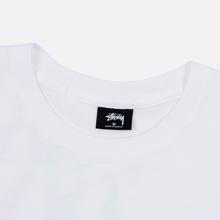 Мужская футболка Stussy Double Mask White фото- 1