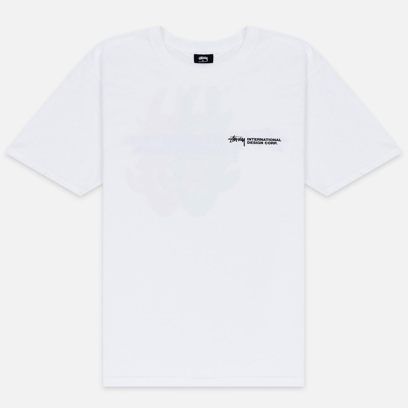 Мужская футболка Stussy Double Mask White