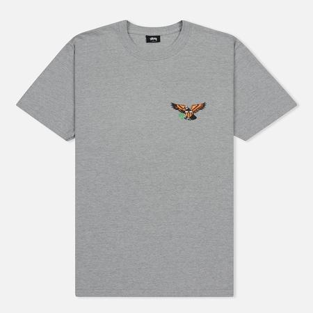 Мужская футболка Stussy Eagle Grey Heather