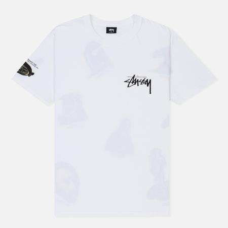 Мужская футболка Stussy Gallery White