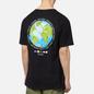 Мужская футболка Stussy Global Design Corp Black фото - 3
