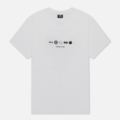 Мужская футболка Stussy Global Design Corp White