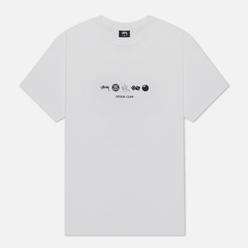 Мужская футболка Stussy Global Design Corp White