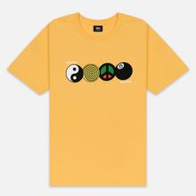 Мужская футболка Stussy Harmony Orange фото- 0