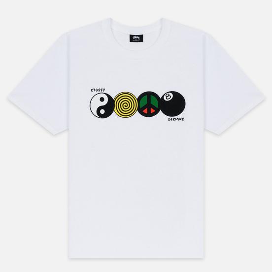 Мужская футболка Stussy Harmony White