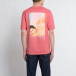 Мужская футболка Stussy Harumi Yamaguchi Nude Dark Pink фото- 6