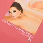 Мужская футболка Stussy Harumi Yamaguchi Nude Dark Pink фото- 4
