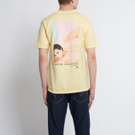 Мужская футболка Stussy Harumi Yamaguchi Nude Pale Yellow фото- 6