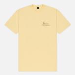Мужская футболка Stussy Harumi Yamaguchi Nude Pale Yellow фото- 0