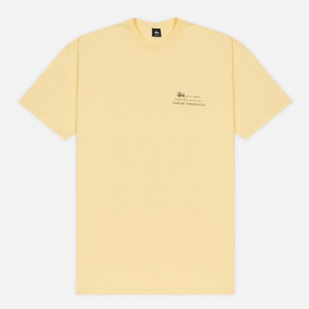 Мужская футболка Stussy Harumi Yamaguchi Nude Pale Yellow