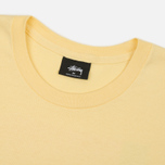 Мужская футболка Stussy Harumi Yamaguchi Nude Pale Yellow фото- 1