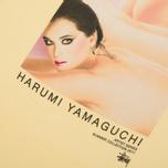 Мужская футболка Stussy Harumi Yamaguchi Nude Pale Yellow фото- 4