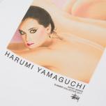 Мужская футболка Stussy Harumi Yamaguchi Nude White фото- 4