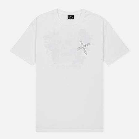 Мужская футболка Stussy Hippie Skull White