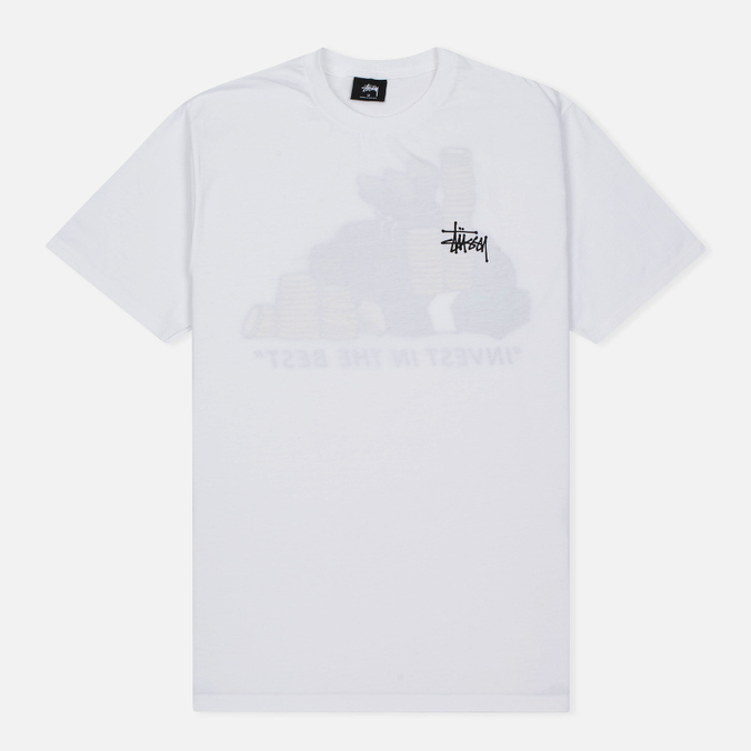 Мужская футболка Stussy Invest In The Best White