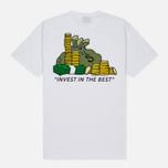 Мужская футболка Stussy Invest In The Best White фото- 3