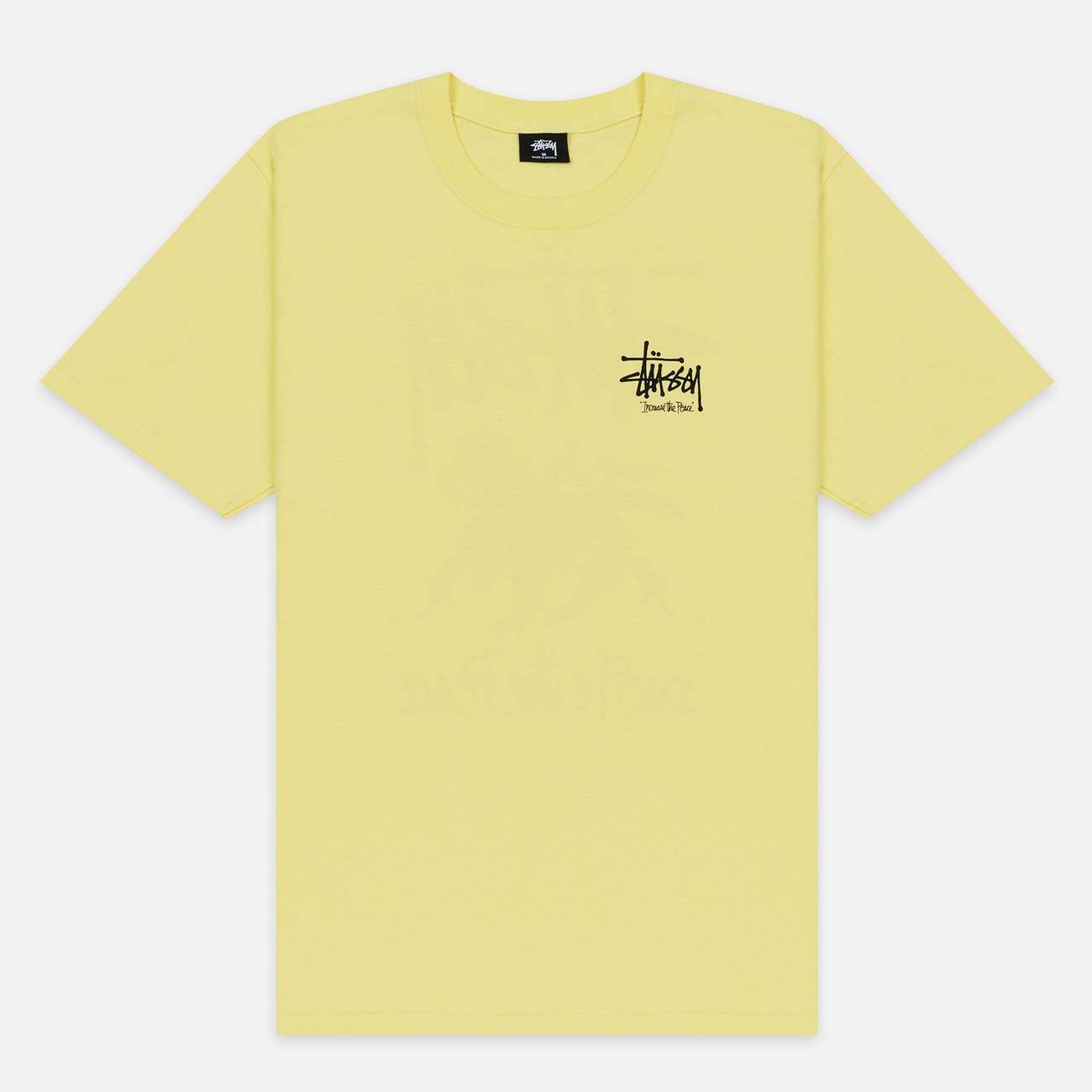 Мужская футболка Stussy ITP Lion Lemon
