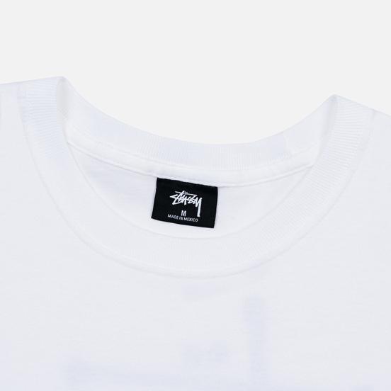 Мужская футболка Stussy ITP Lion White