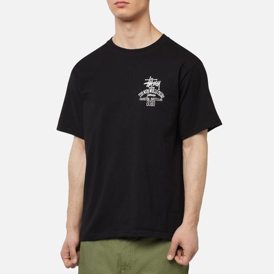 Мужская футболка Stussy Jamaica World Tribe Black