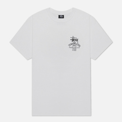 Мужская футболка Stussy Jamaica World Tribe White