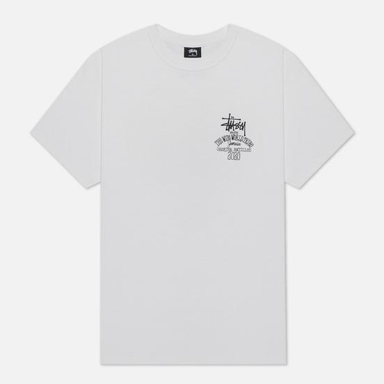 Мужская футболка Stussy Jamaica World Tribe White