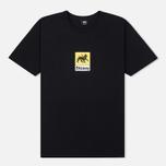 Мужская футболка Stussy Leone Black фото- 0