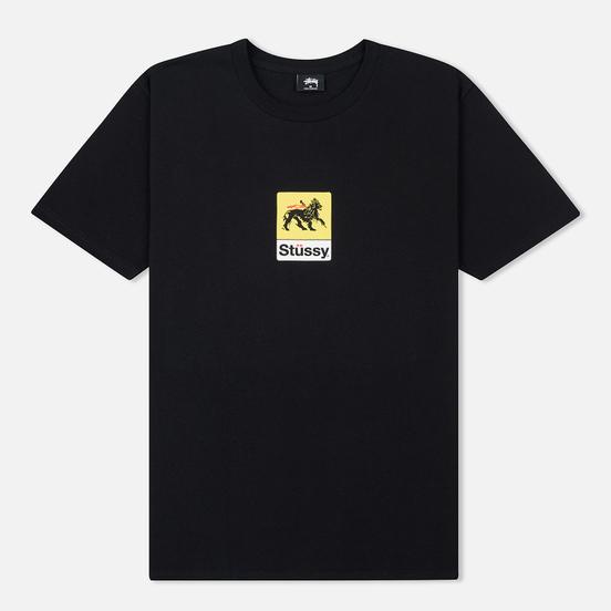 Мужская футболка Stussy Leone Black