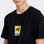 Мужская футболка Stussy Leone Black фото- 6