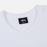 Мужская футболка Stussy Leone White фото- 1